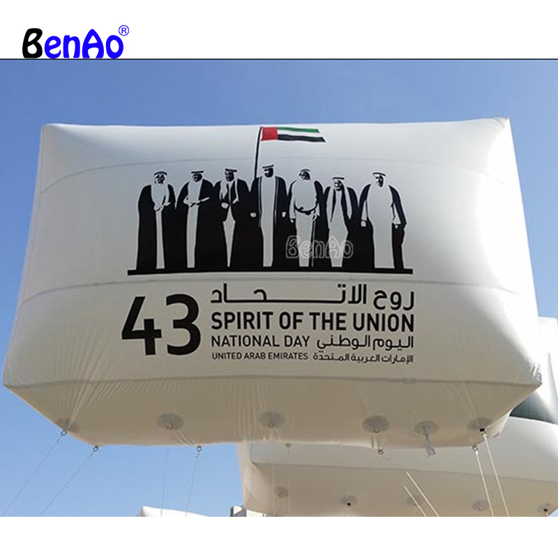 AO745Hot air inflatable helium balloon with custom logo printed for promotion