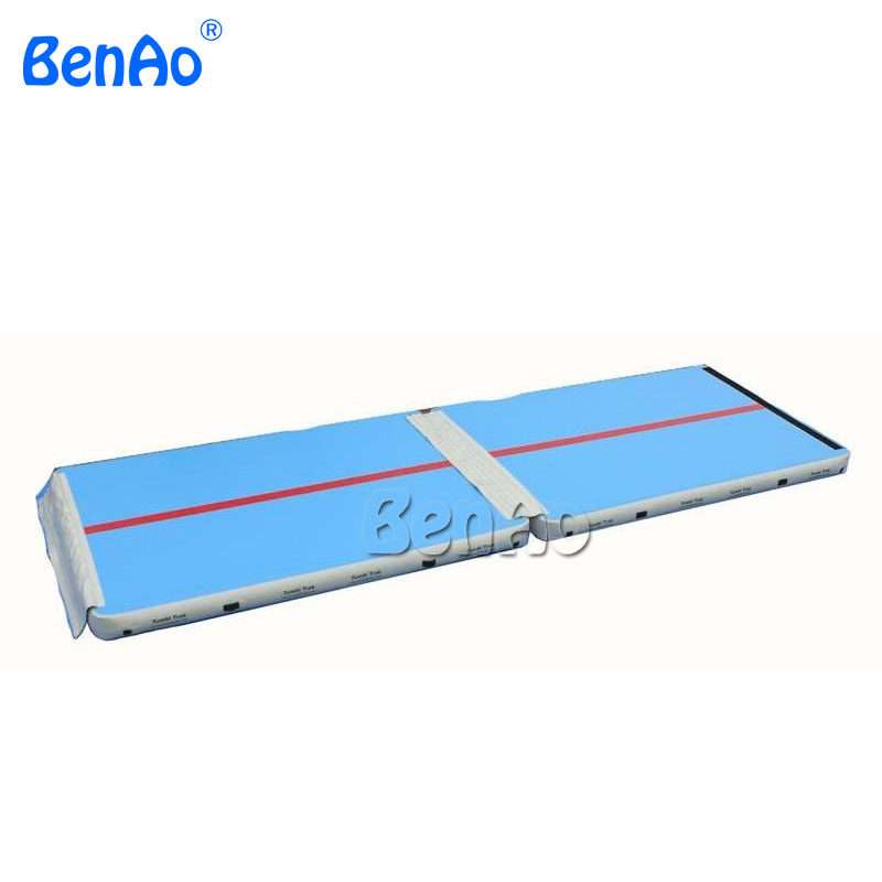 GA060 cheap inflatable air track for sale/tumble track trampoline