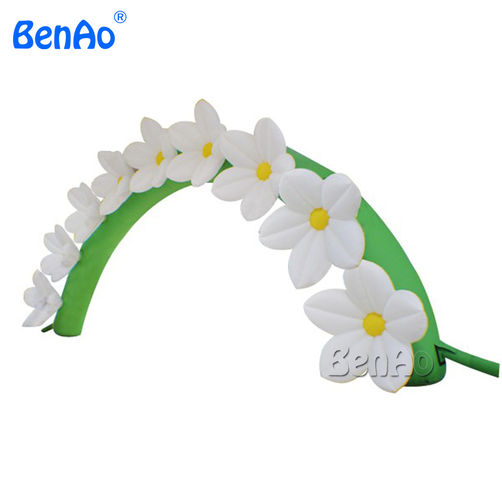 Wedding Decoration giant inflatable flower arch