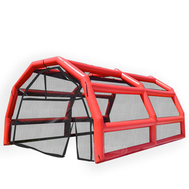 T850 Airtight inflatable car garage tent hangar bubble tent,