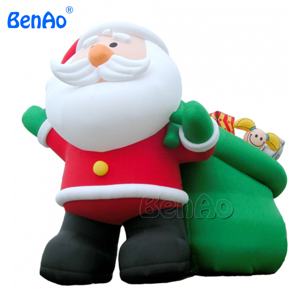 X029-2 outhouse Christmas inflatable decoration