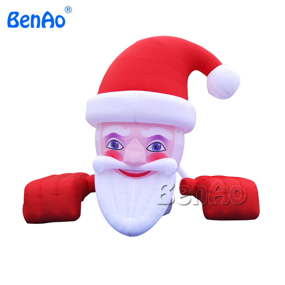 X031 Inflatable Colossal Santa Yard Holiday Decoration,inflatable costume